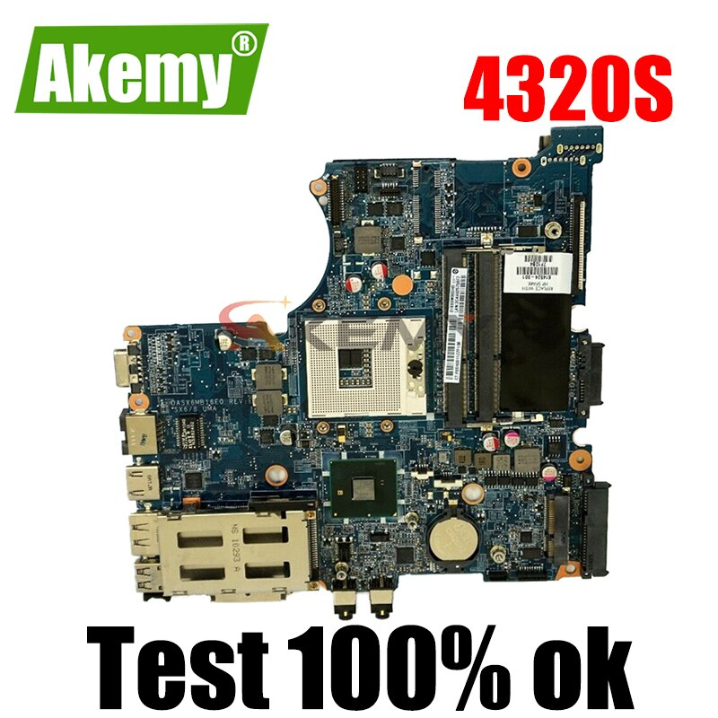 AKemy محمول لوحة رئيسية لأجهزة HP Probook 4320S 4321S 4420S HM57 اللوحة 599520-001 599520-001 DASX6MB16E0 DDR3