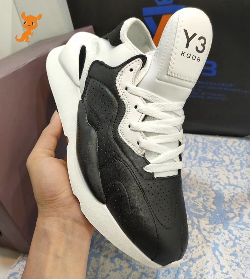 Fashion European and American casual men's shoes Y3 FODSW real leather shoes KGDB Y3 shoes Lovers sports running shoes