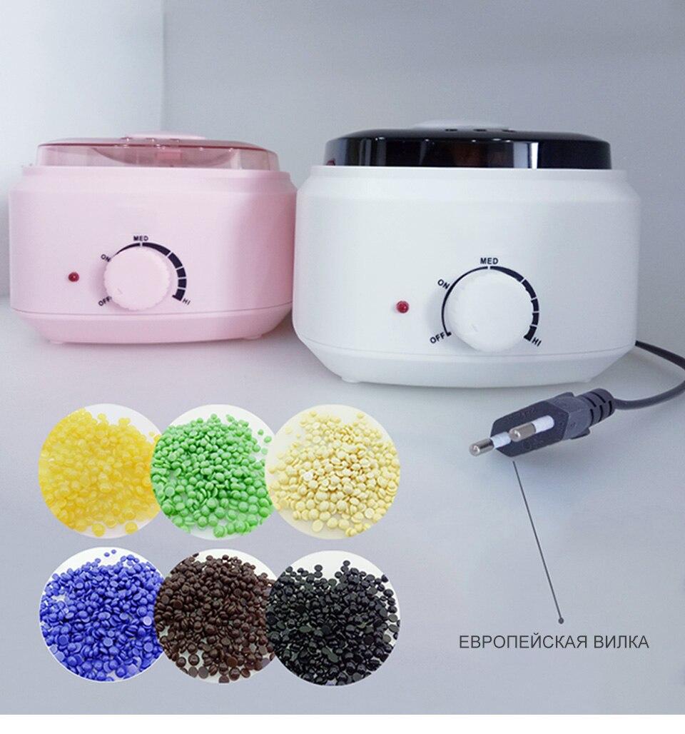 controle temperatura 500cc mini aquecedor cera aquecedor
