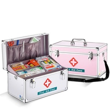 Medizinische Kit Leere Medizin Box Hause Im Freien Tragbare Emergency First aid kit Lagerung box Key lock Multifunktions Ambulanten