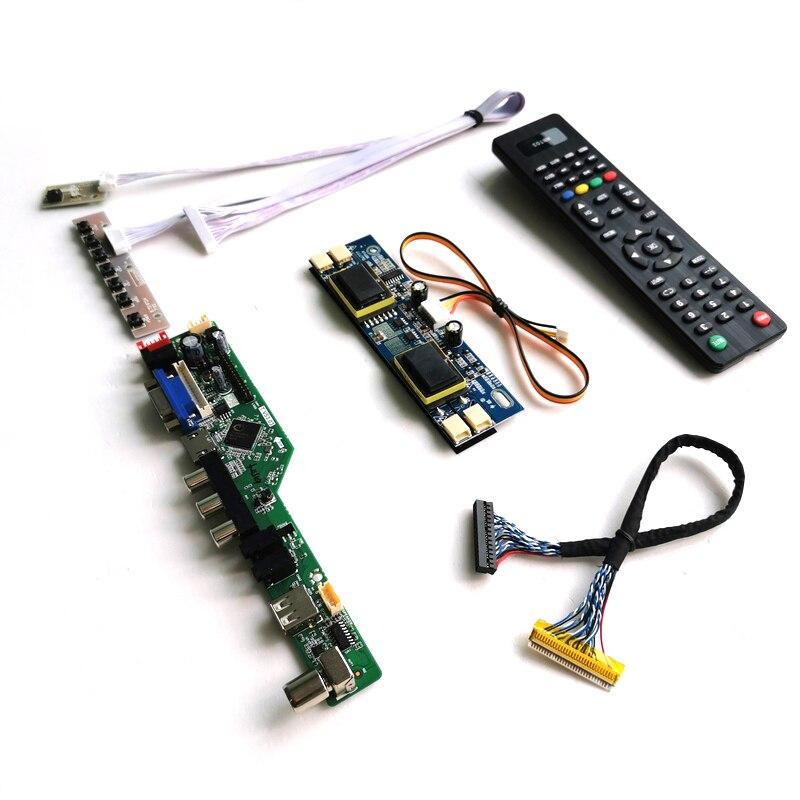 """Para LM215WF1/LM215WF2/LM215WF3 21,5 """"4 CCFL monitor panel 1920*1080 30Pin LVDS de Audio HDMI VGA USB pantalla LCD controlador de tarjeta de kit"""