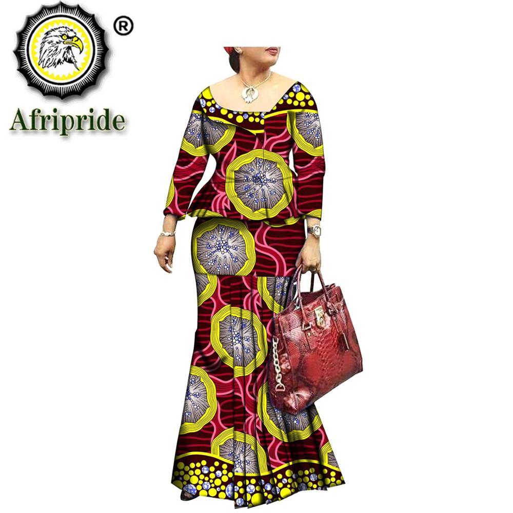 فستان أفريقي من القطن الخالص مع طباعة داشيكي ، بازان شمع أنقرة ، مخصص ، S1825074 ، 2019