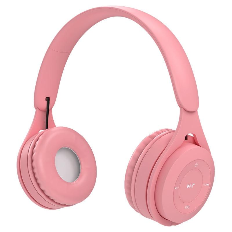 Auriculares inalámbricos versátiles con Bluetooth 5,0, cascos coloridos para juegos, regalo, para...
