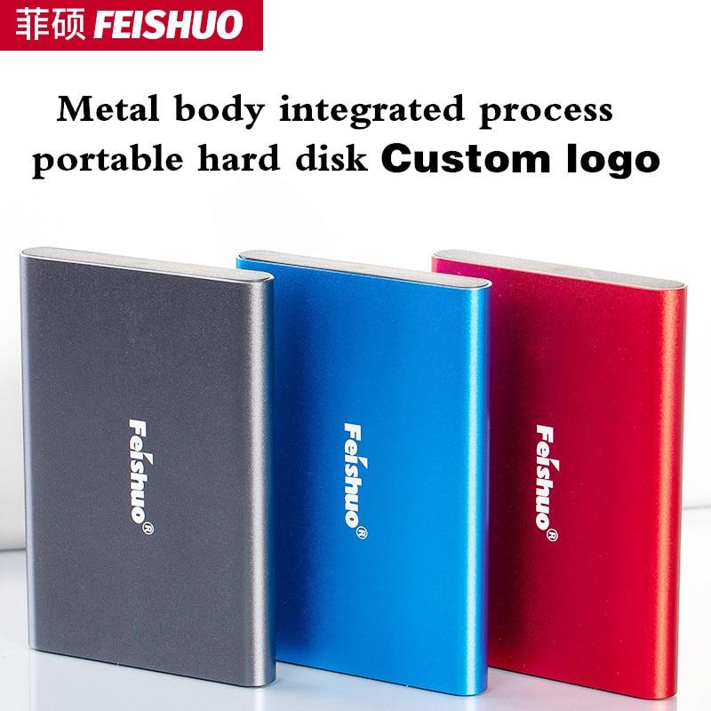 Custom logo Portable External Hard Drive USB 3.0 120g 500g 1TB 2TB Storage HDD External HD Hard Disk for PC,Mac,Tablet,Xbox,PS4