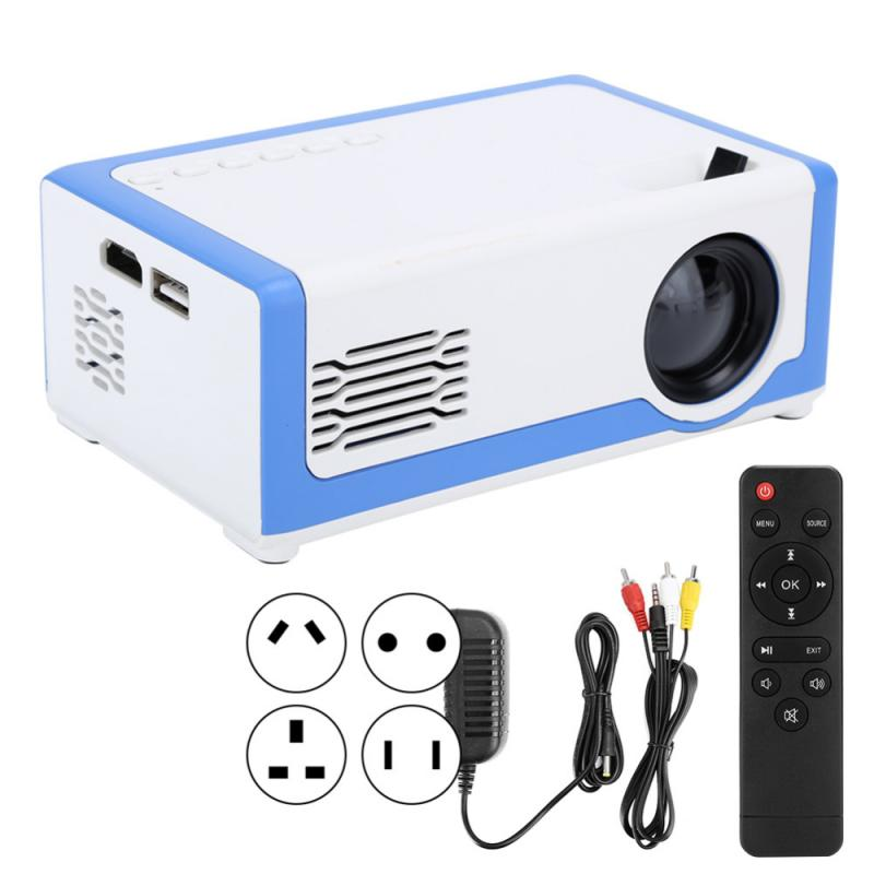 1920x 1080P Portable HD Mini Projector TD90 Native LED Android WiFi Projector Video Home Cinema 3D U