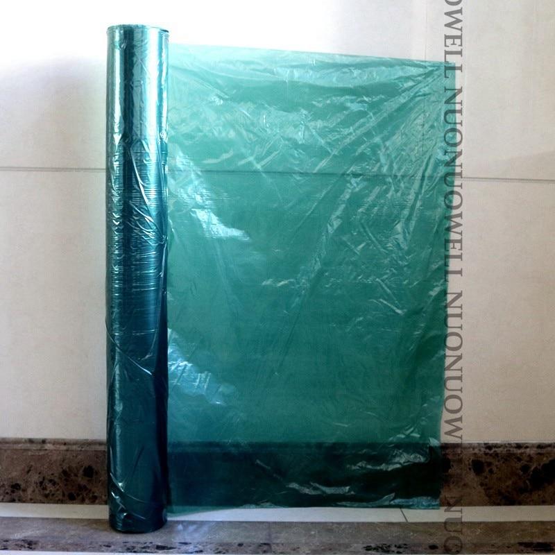 Высококачественная зеленая пластиковая пленка 0,02 мм для выращивания овощей и имбирей, в рулоне, 520m/мм, ширина 1-2 м