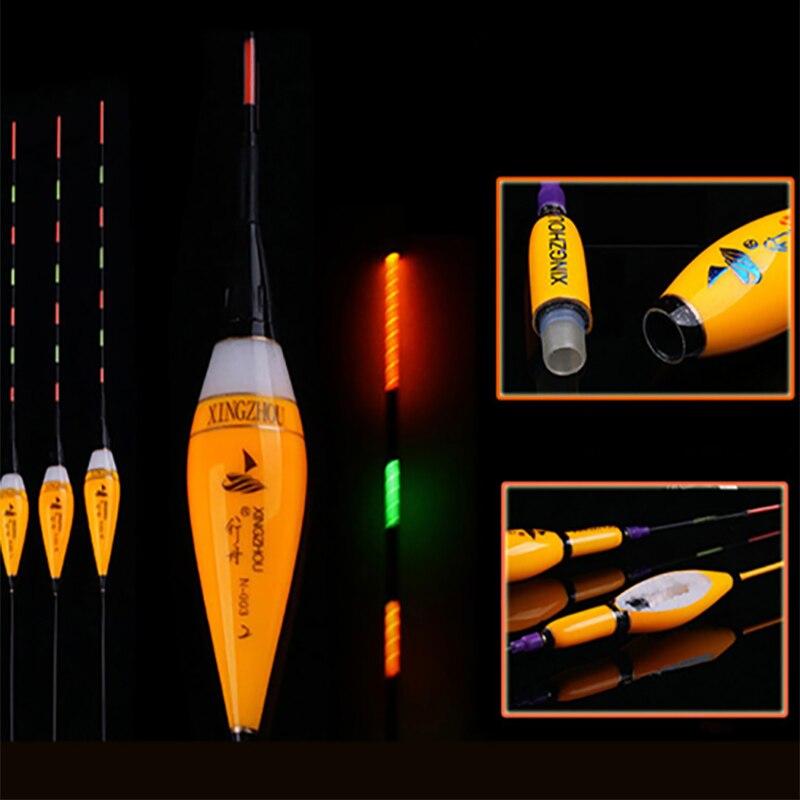 Flotadores de Pesca eléctricos luminosos, batería de Luz 1-3 #, aparejos de...