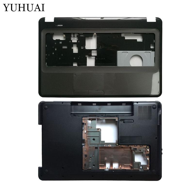 "Nueva Laptop shell para HP Pavilion 17,3 ""G7 G7-1000 G7-1158 G7-1257dx 646498-001 cubierta inferior cubierta/cubierta superior con reposamanos 646563-001"