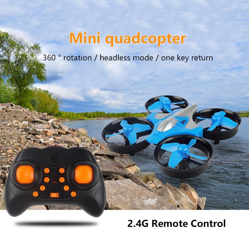 2,4G Mini Quadcopter sin JJRC H36 H36F Mini Drone 2,4G 4CH 6-velocidad eje 3D Flip sin cabeza modo RC juguete Dron, regalo de juguetes,
