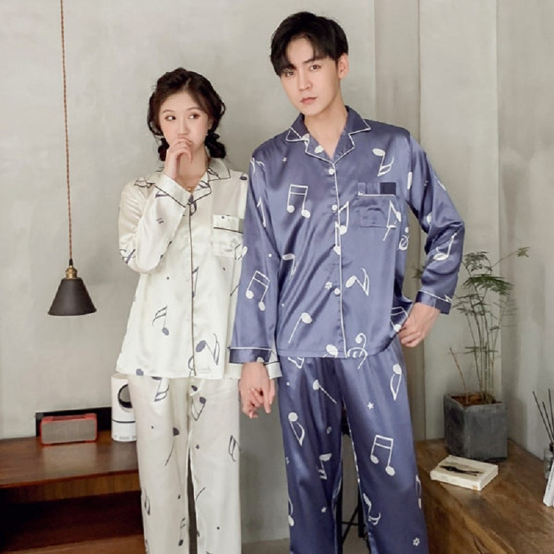 para homem yuan 2021 vip marca de luxo conjunto pijama seda como nightie luxo casa roupas de dormir (entre em contato comigo)
