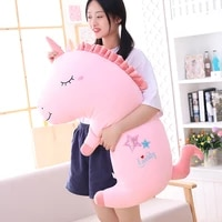 hot cute unicorn plush toy baby unicorn three in one pillows doll animal stuffed plush soft toy birthday gifts for children gift