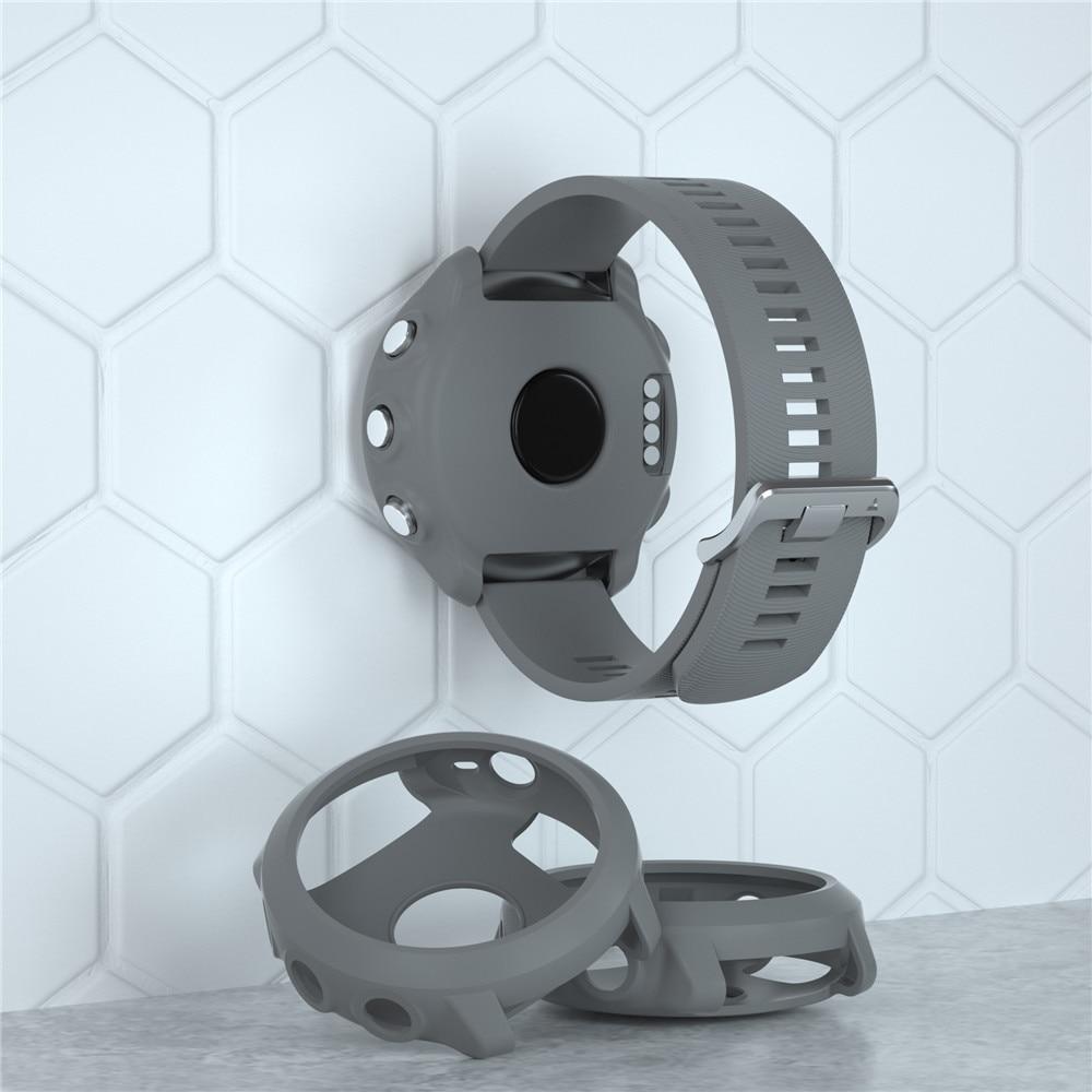 Funda protectora inteligente ligera funda protectora de silicona para Garmin Forerunner 645 reloj deportivo de música de alta calidad