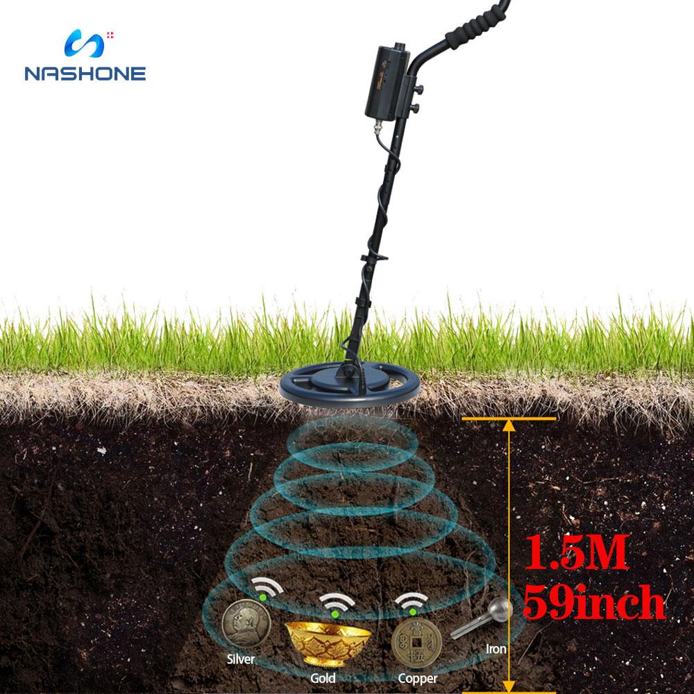 Detector De Metales Profesional Detector De oro AR944M Detector De Metales bajo...