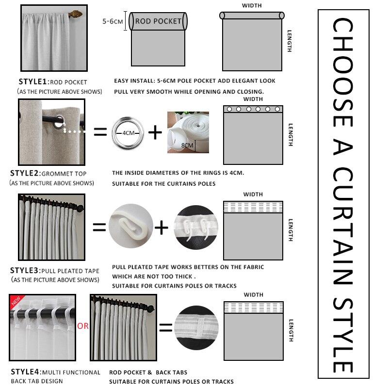 Купить с кэшбэком MRTREES Striped Sheer Curtains for Living Room The Bedroom Curtains for The Kitchen Modern Tulle Curtains for Window Drapes