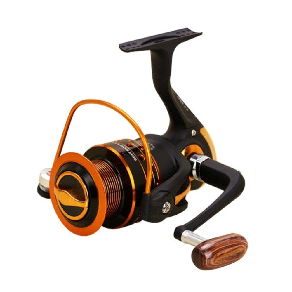 Série AX500-7000 12 + 1BB Spinning Carretel de Pesca De Fibra De Carbono Ultraleve Rotação De Plástico com Braço De Metal Roqueiro Dropshipping Venda Quente