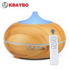 KBAYBO 550ml difusor de aroma de aceite esencial humidificador de aire ultrasónico fabricante de niebla fría aromaterapia difusor de aire acondicionado para el hogar