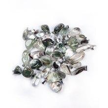 2020 nouveau vente chaude bijoux irrégulier vert fantôme pendentif taille 15x20-18x28mm