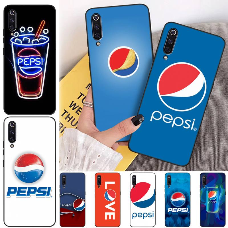 LJHYDFCNB Pepsi-Cola DIY Luxury Phone Case for xiaomi mi 8 9 8SE 9SE 8Lite mix2 2S max2 3 Pocophone F1