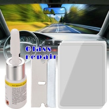 Auto Glass Repair Windshield Windscreen Scratch Crack Tool Corrector Set car accessories