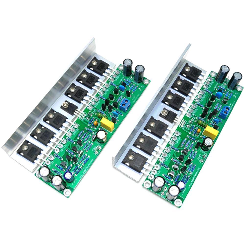 1 par L15 tablero amplificador MOSFET 2 canales AMP IRFP240 IRFP9240 + ángulo de aluminio