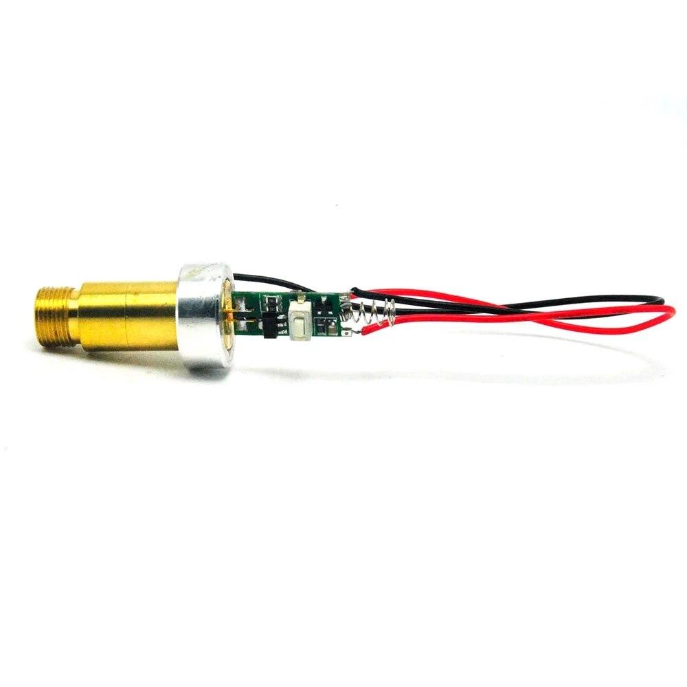 532 нм 200 мВт 3,7-4,2 В промышленный латунь +зеленый лазер точка модуль диод с алюминием радиатором w% 2F драйвер 26 пружина