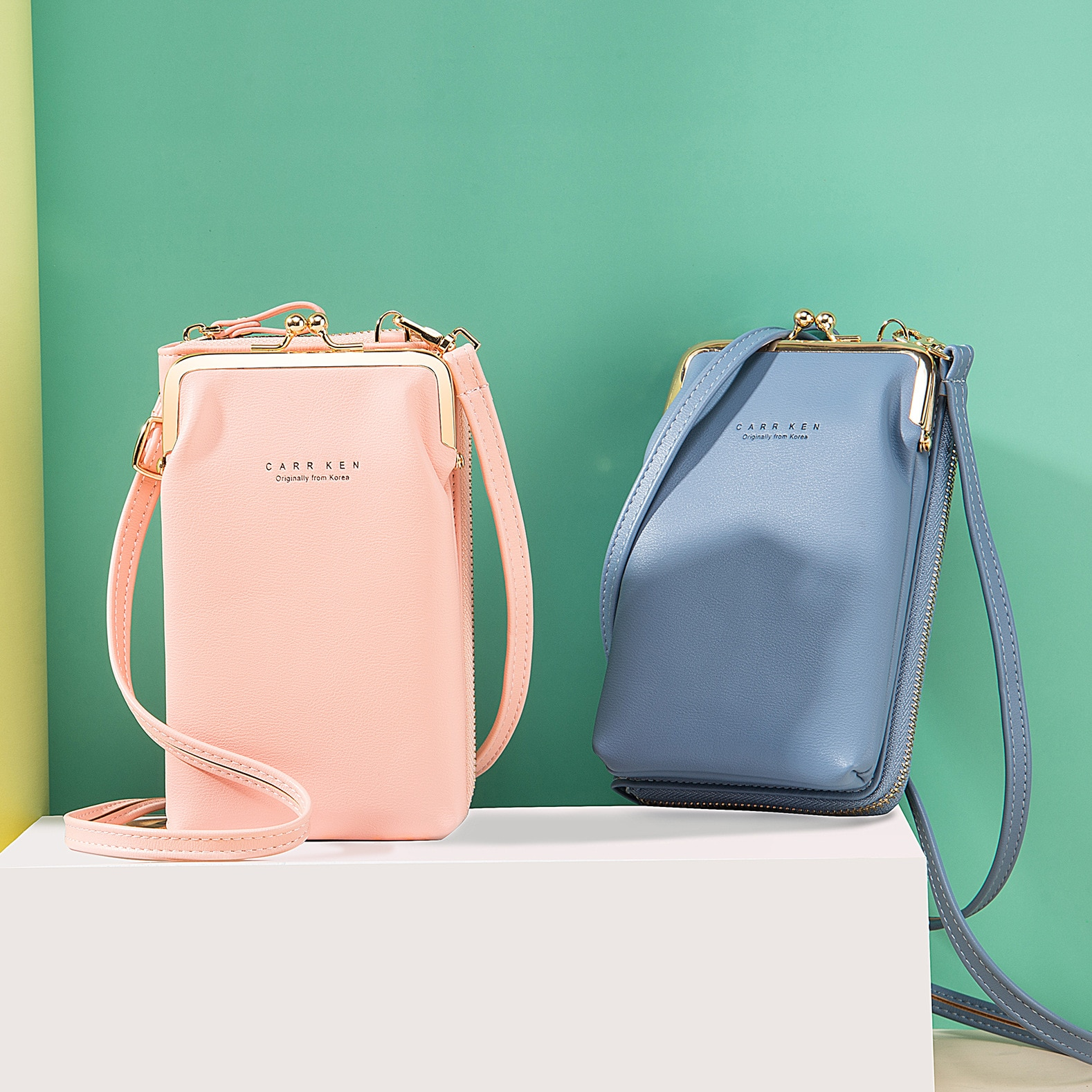 Women Long Wallet Shoulder Bag Female Wallets Clutch Lady Purse Zipper Phone Pocket Card Holder Ladi