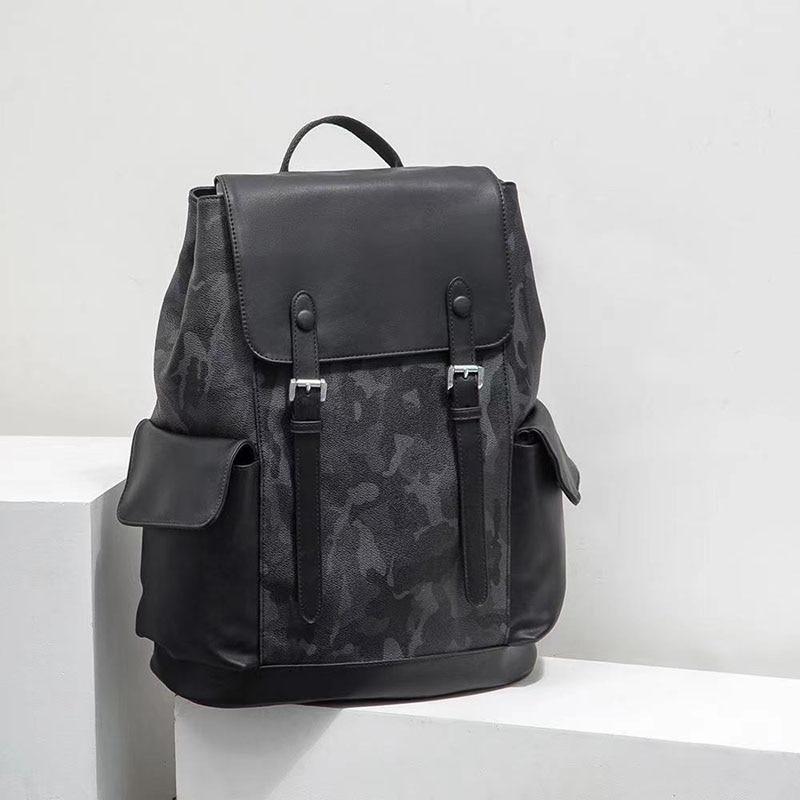 الرجال على ظهره 2021 موضة جديدة الاتجاه حقيبة ظهر بسعة كبيرة نزهة حقيبة السفر