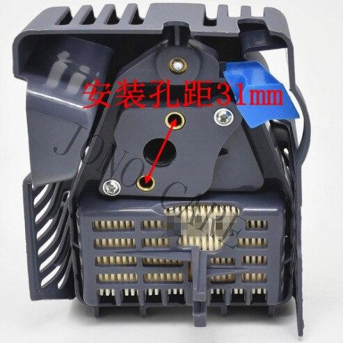 BRUSH CUTTER AIR FILTER COMPLETE FOR OLEO MAC SPARTA 36 43 EFCO EF3600 EF4300 EMAK 36CC 40CC TRIMMER CLEANER COVER ELEMENT COMBO