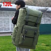 120L большая военная сумка, тактический рюкзак, уличная водонепроницаемая сумка для багажа, Спортивная походная Сумка для кемпинга, дорожная ...