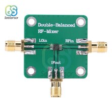 Micro-onde radiofréquence Double-équilibré Radio fréquence mélangeur RF fréquence transducteur RFin = 1.5-4.5GHz RFout = DC-1.5GHz