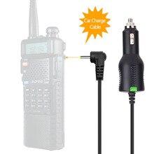 BAOFENG & ABBREE 12 24V Автомобильное зарядное устройство кабель Линия для BaoFeng UV 5R UV 82 3800 мА/ч, Батарея UV S9 плюс BF F8HP иди и болтай Walkie Talkie