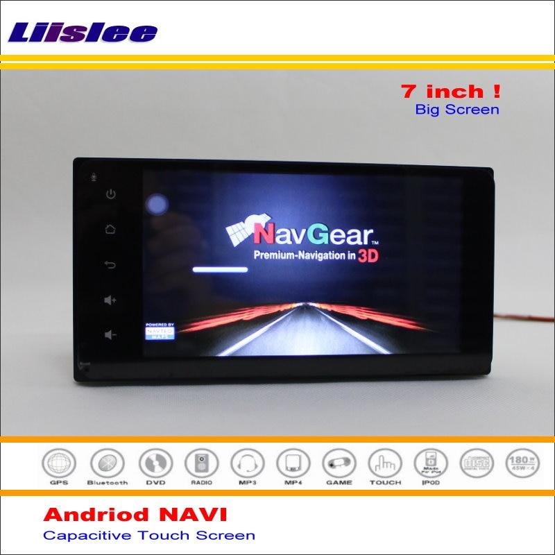Liislee Car Android GPS NAV NAVI Navigation System For Toyota Platz 2000~2005 - Radio Audio Stereo Multimedia ( No DVD Player )