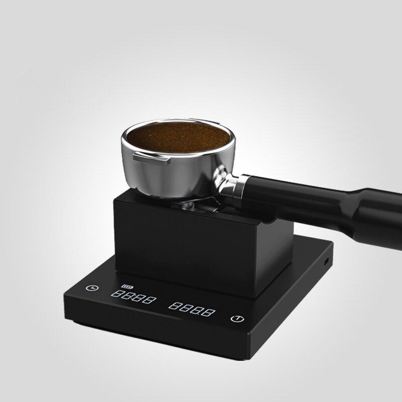 ماجيك كيوب اسبريسو سدادة قهوة محطة Portafilter الفولاذ المقاوم للصدأ ماكينة القهوة مقبض مسحوق المطرقة حامل أرفف هلام السيليكا