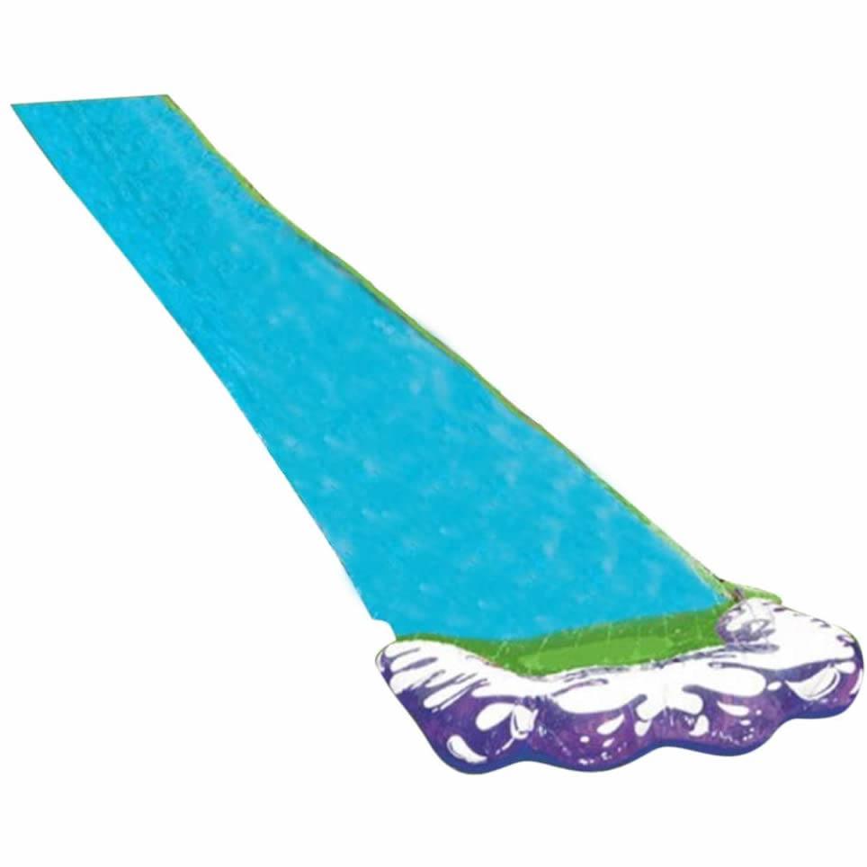 Tobogán acuático gigante de Surf, 4,8 m, toboganes acuáticos divertidos para césped, piscinas para niños, verano, juegos de PVC, Centro de patio trasero, juguetes para adultos y niños al aire libre