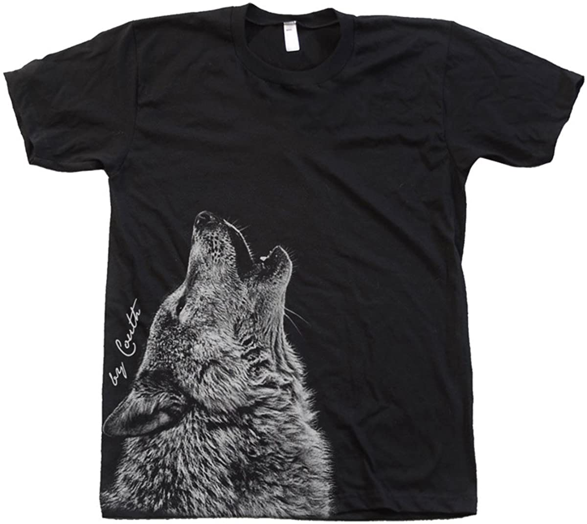 Summer Cotton Men T-shirt Couthclothing Men's Wolf American Apparel Crew O-neck Short Sleeve Graphic T-shirts Men Clothing S-3XL 2021 summer o neck men t shirt classic hot rods men t shirt high quality cotton t shirt printing short sleeve men clothing s 3xl