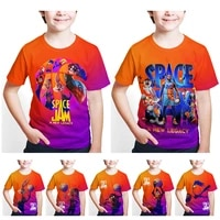 movie space jam t shirt boygirl bug bunny 3d print t shirts adultchildren casual tshirt streetwear tops