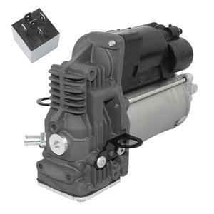 AP02 For Mercedes-Benz M GL Class W164 X164 Air Suspension Compressor Pump + Relay New