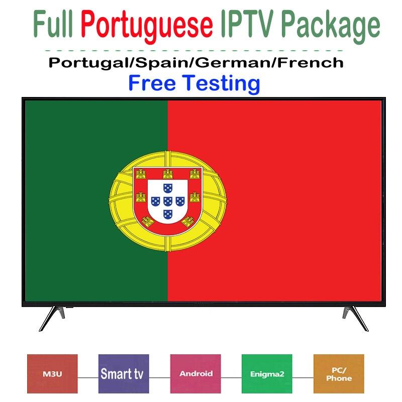 1 год подписки IP TV Португалия поддержка спортивного ТВ elevent sports m3u Enigma2 для IP TV Smarters VLC Smart TV Box Android IOS