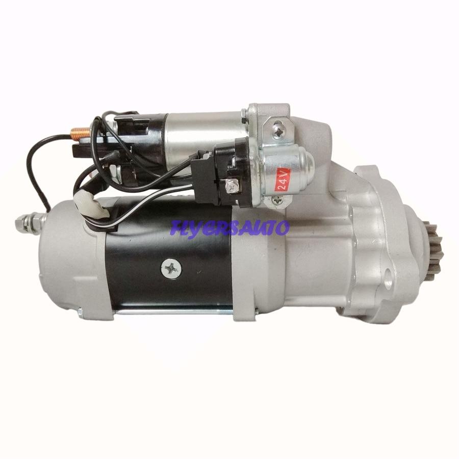 بداية جديدة لمحرك CUMMINS C15 ISX N14 ، 24V 9KW CW 11T flyersalto ، 19011507 19011523 ، 8200032