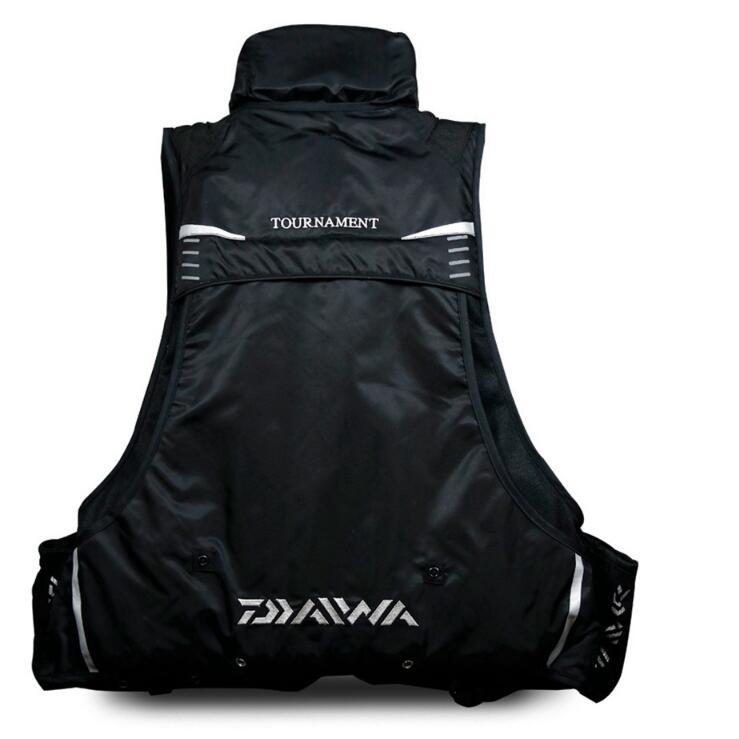 2021 New Fishing Life Jacket Life Vest Summer Multi-function Buoyancy Outdoors Night Reflected Light Life Jacket enlarge