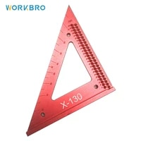 woodworking triangle ruler line ruler hole scribing gauge precision squares woodworking crossed out hole ruler measuring tool