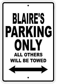 Blaire стоянки только в том случае, все Прочие ожерелья и подвески будет буксируемая название осторожно Предупреждение уведомления Алюминий м...
