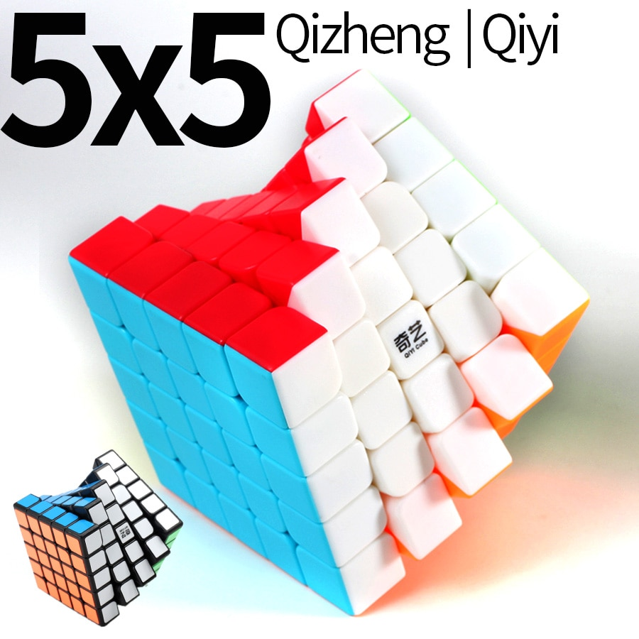Neo Cube 5x5x5 Cubo Magico Qiyi Qizheng S Magic Speed Cube 5x5 Stickerless Qizhengs cubic anti-stress 5 Durch 5 Spielzeug Für Kinder