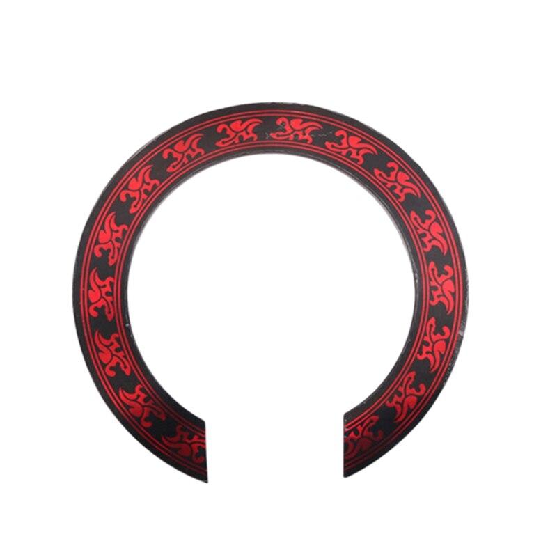 Nuevo adhesivo roseta Para Boca de 1 Uds con diseño rojo para piezas de repuesto de guitarra acústica clásica