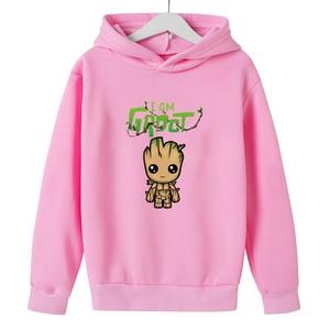 2021 New 3D Hoodie Children's Clothing Sweatshirt Baby Coat Autumn Kids Cartoon 4-14T Boy Clothes  Girls Clothes Boys Hooded
