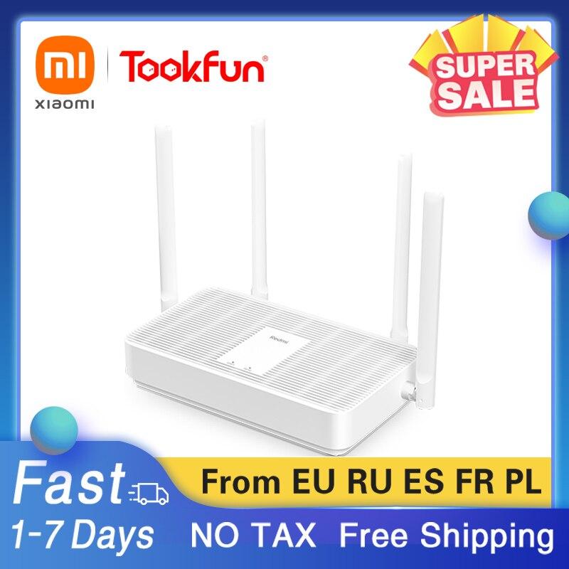 Original Xiaomi Mi Redmi AX5 Wireless Router Mesh Network WIFI 6 VPN Dual frequency 2.4G and 5G Repeater Signal Amplifier