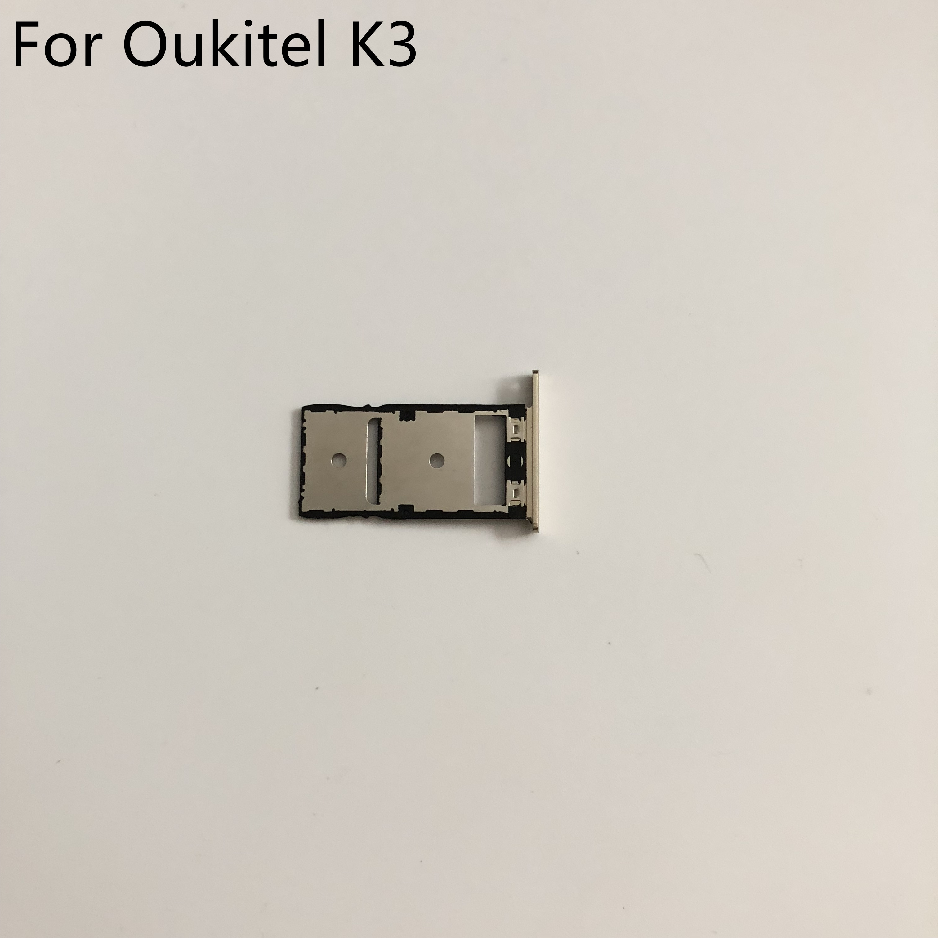 Фото - New Sim Card Holder Tray Card Slot For Oukitel K3 MT6750T Octa Core 5.5 inch FHD 1920x1080 + Tracking Number new sim card holder tray card slot replacement for oukitel k6000 plus mtk6750t octa core 5 5 fhd 1920x1080