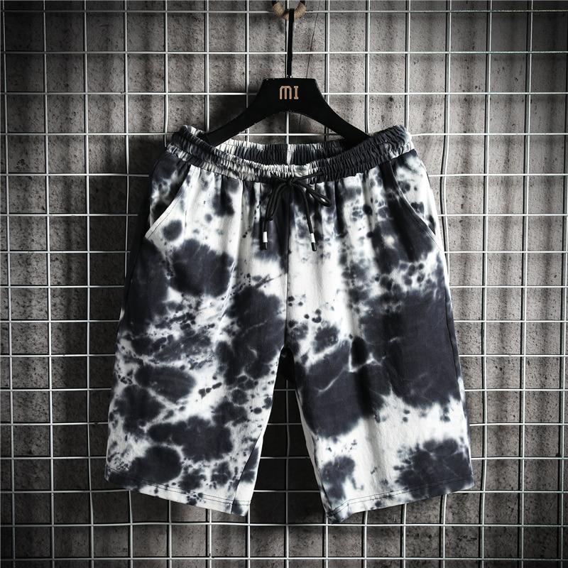 2020 brand clothing summer Gradation solid casual shorts men cargo shorts plus size 4XL 5XL beach shorts