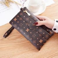 Лакированные кожаные женские кошельки, длинный Дамский бумажник на двойной молнии, клатч, дизайнерская красная сумка, женский кошелек
