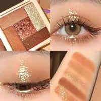glitter shimmer matte eye shadow palette vibrant bright pigmented metallic diamond eye shadow pallete makeup palette cosmetic